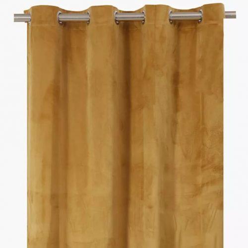 Gatsby Velvet Eyelet Curtain 140x225cm