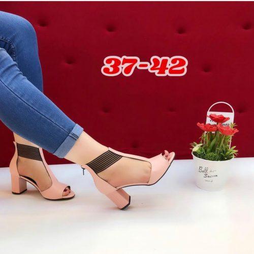 Block Heels Open Toe